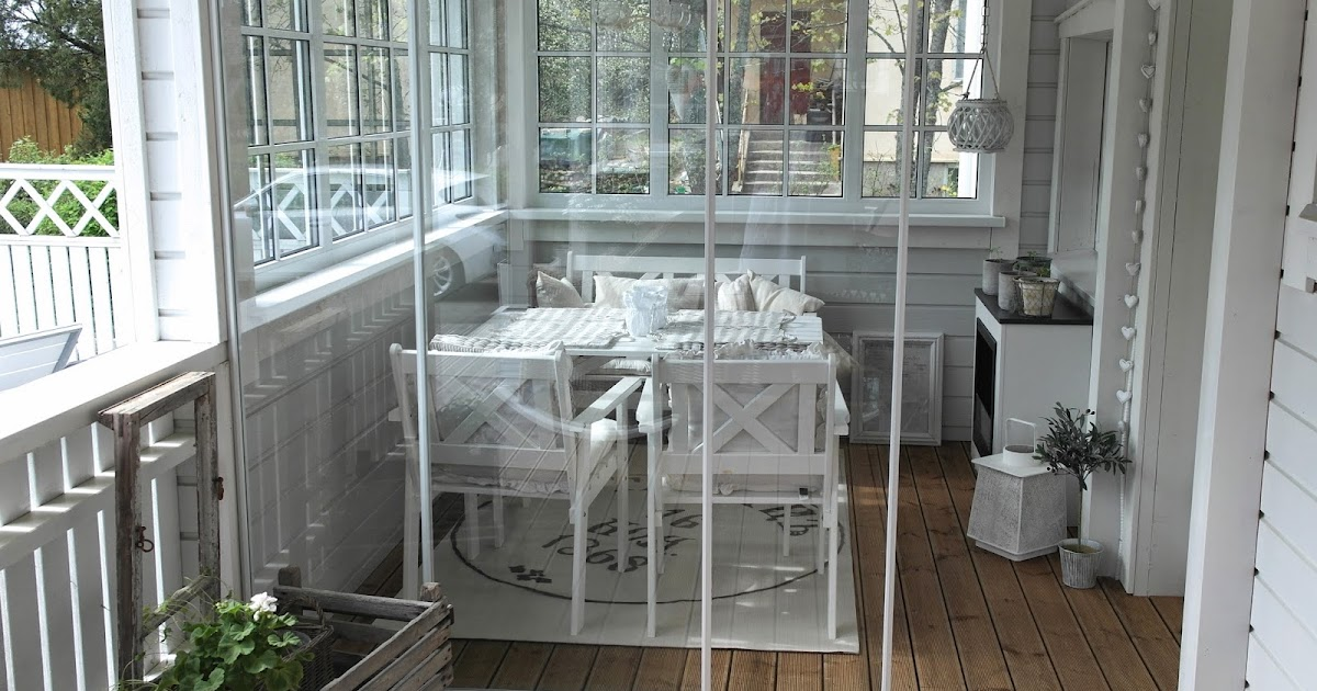 Valkoisen Talon Reetta Lasikuistin uusi matto