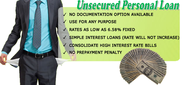 Unsecured Personal Loan : Best guide to get unsecured personal loans loan information