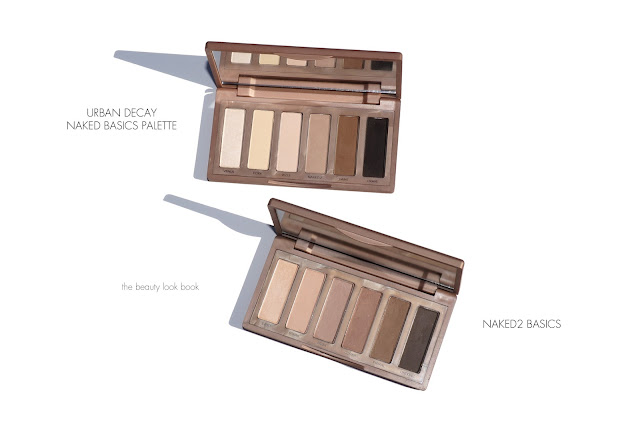 Urban Decay Naked Basics and Naked2 Basics