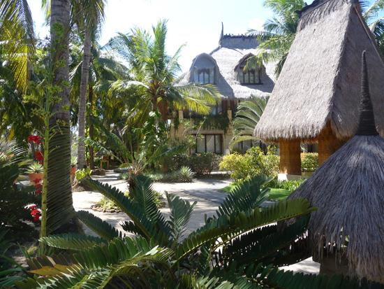 El interior del hotel Novotel, Lombok