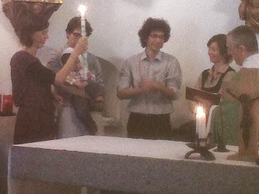 2.9.2012 Bateig de IVAN GIORGIS a Santa Helena D'Agell