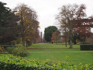 London based Garden Designer review of Kew Gardens. Landscape vista in landscape design