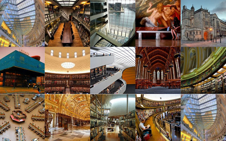 Las librerías más interesantes del mundo -  Most Interesting Libraries of the World
