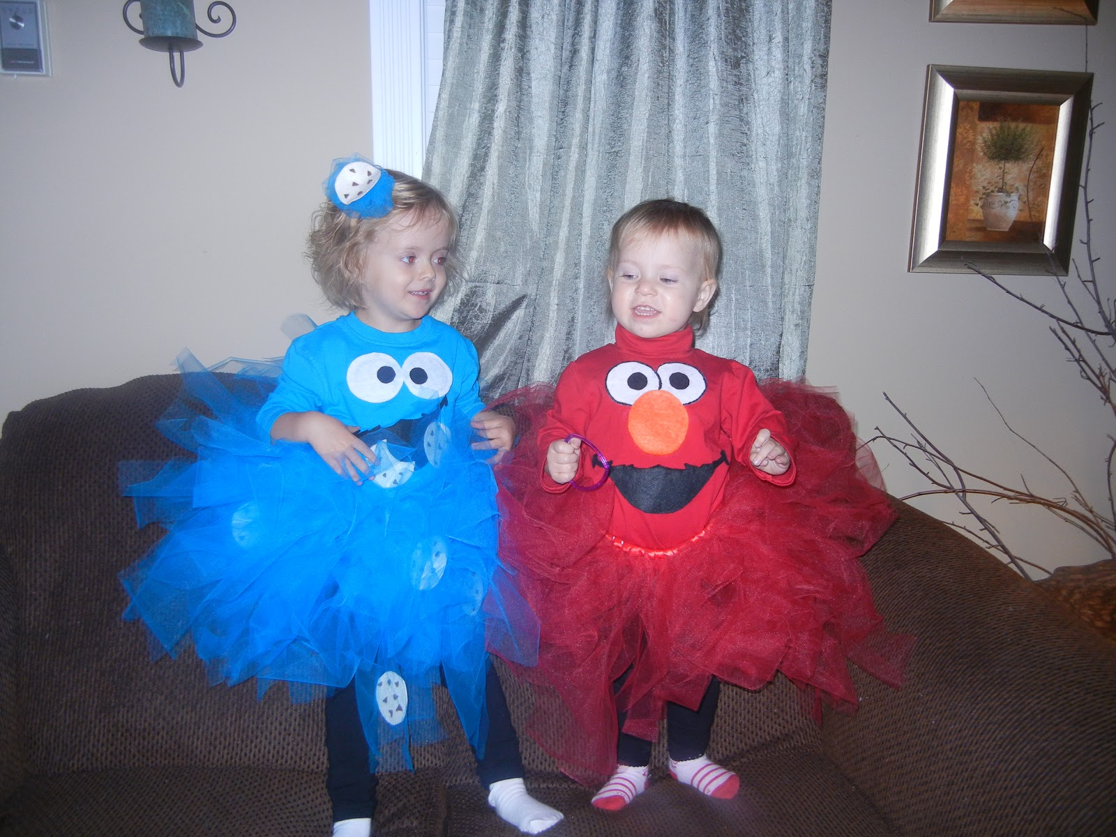 lilo's confections: cookie monster & elmo costumes
