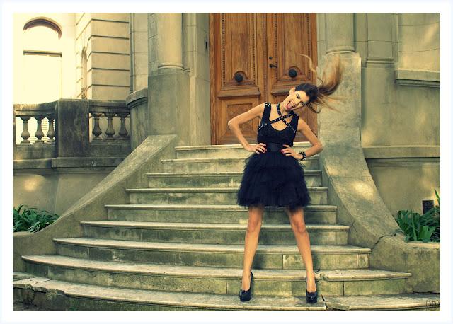 Viuda Negra otoño invierno 2012. Vestidos dark.