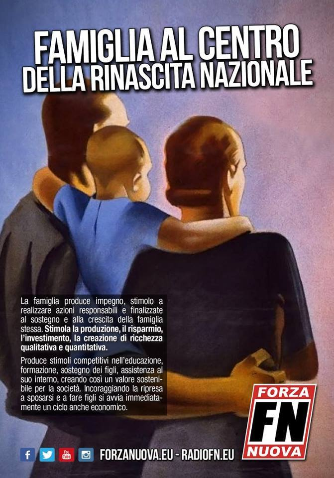 La Famiglia è al centro della rinascita di questa Nazione!