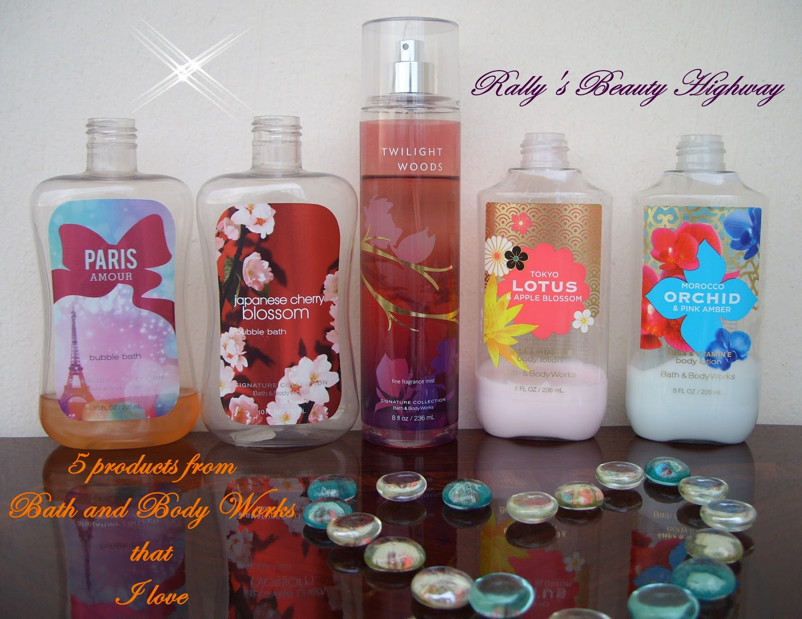 5 products from bath and body works that i love en