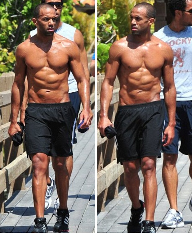 Craig David Shows Off His Incredible Worked Out Body