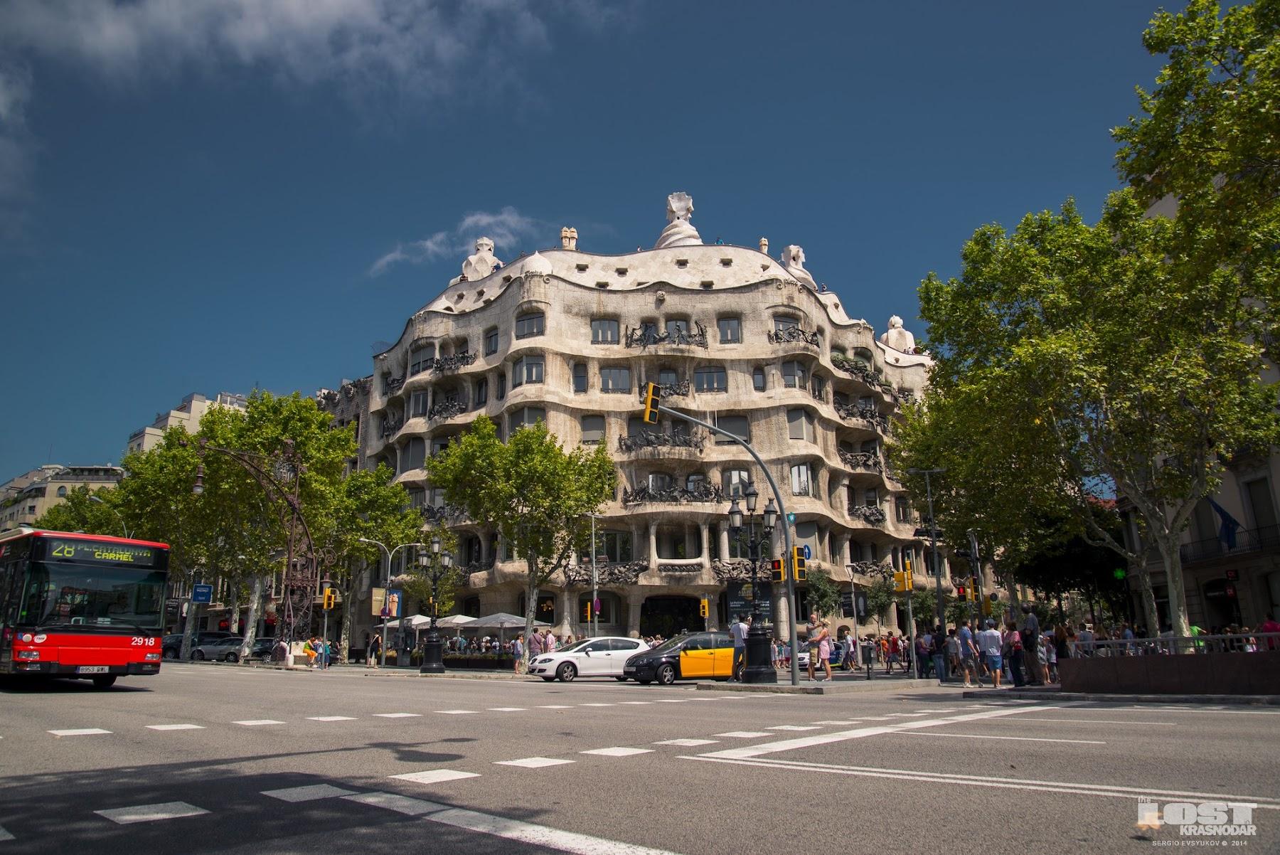 Творчество Гауди в Барселоне