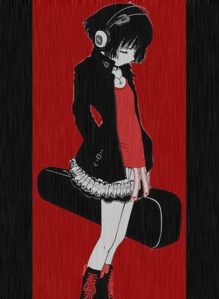 Emo Anime Girl, Emo Girl, Emo Girl Wallpapers, Wallpapers, 2013 ...