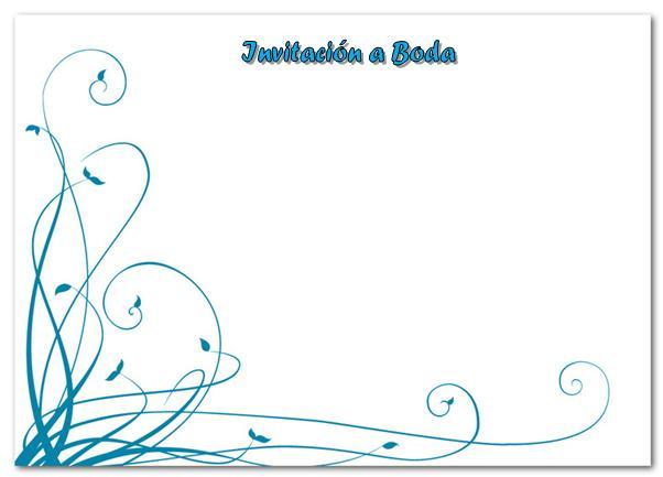 Bordes para tarjetas de invitación gratis - Imagui