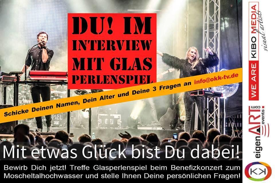 Offener Kanal Kirchheimbolanden: Back Stage bei Glasperlenspiel