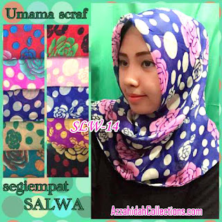 Segi Empat Umama Scarf Salwa - AzzahidahCollections.com