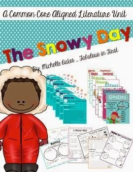 Snowy Day: Reading Unit