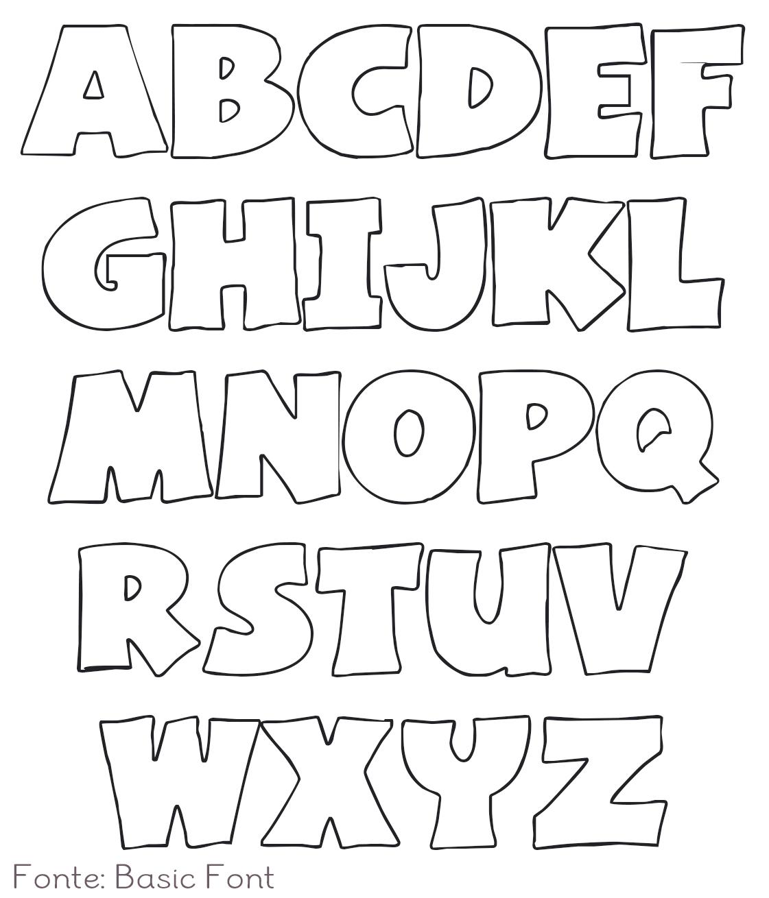 letras para poner: