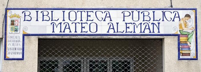 BIBLIOTECA MATEO ALEMÁN