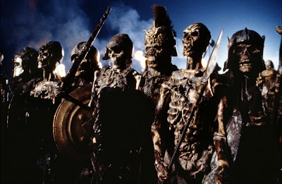 The skeleton deadites in Army of Darkness