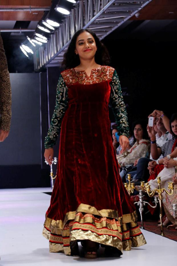 Nitya Menon  At Blenders Pride Fashion Week