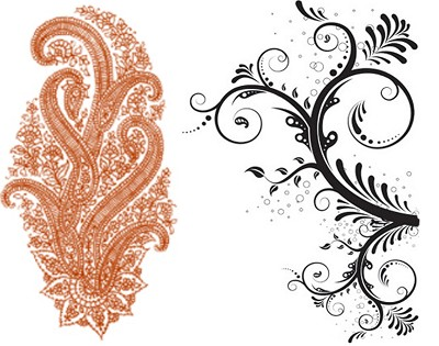Traditional Henna Patterns Mehndi Designs