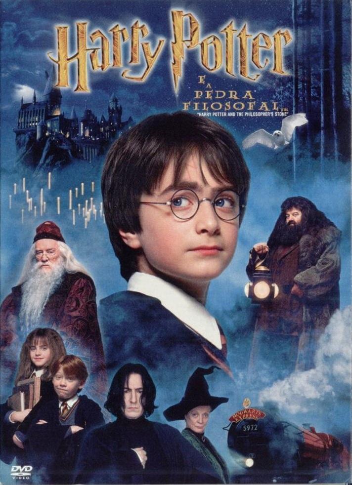 Harry Potter e a Pedra Filosofal – Dublado (2001)