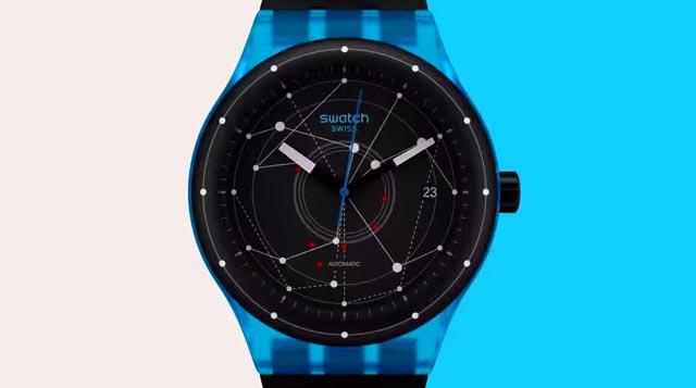 Un reloj Swatch Sistem51