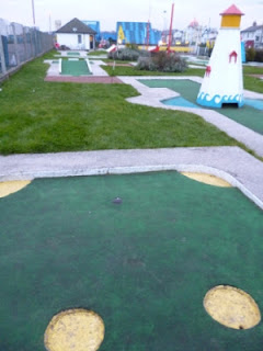 Photo of the Arnold Palmer Mini Golf course in Southend-on-Sea