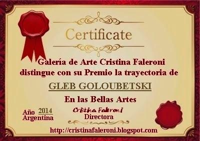 Gleb Goloubetski - Premiado