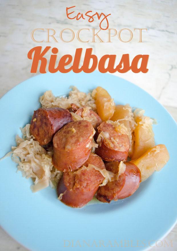 Easy Crock Pot Kielbasa Recipe