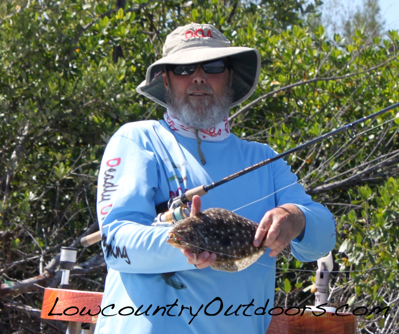 Lowcountry outdoors 14th doa outdoor writer 39 s event day one for Dave stewart fishing report