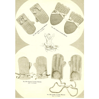 Baby Mittens - Free Crochet Pattern: - ROXYCRAFT.COM