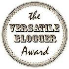 Premio Versatile Blogger Adward