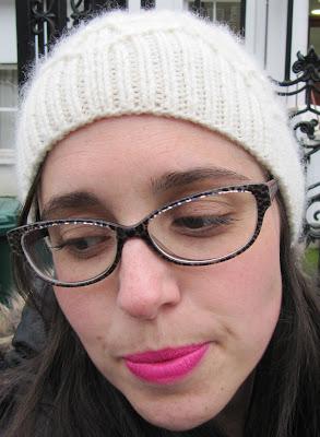 Oak Crest Hat, Nars 'Schiap' lipstick