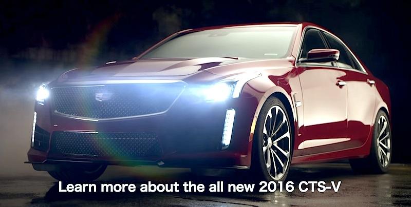 【動画】キャデラックの高性能モデル「CTS-V」の豪快なビデオを公開!