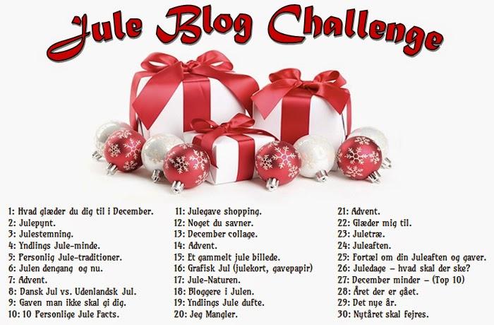 Jea's Jule Blog Challenge.