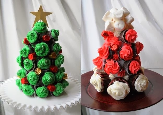 Navilandia cupcakes noviembre 2013 - Arboles de navidad de chuches ...
