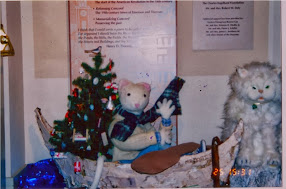 Stuart Little Christmas Tree Exhibit