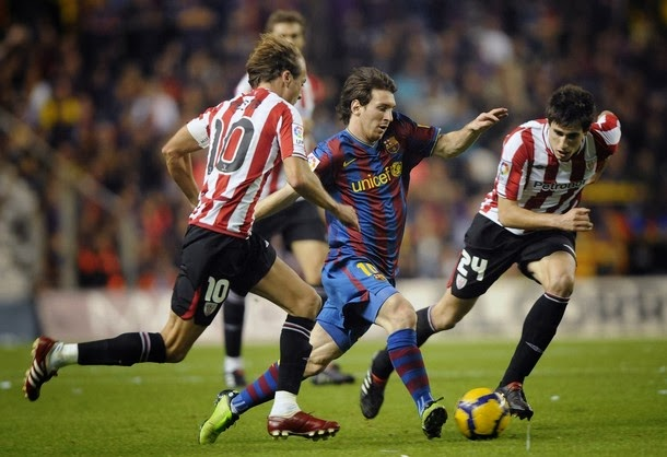 Lionel Messi's Brilliant Run against Athletic Bilbao