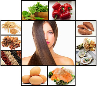 the foods for healthy hair