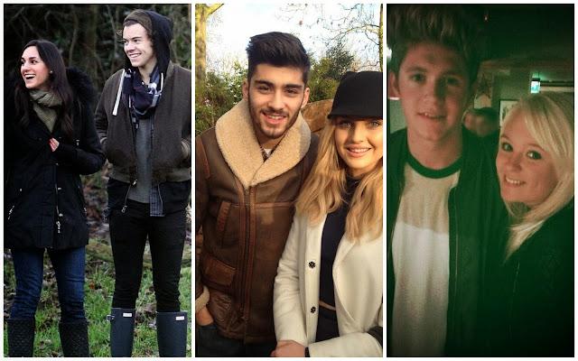 one direction, 1d, 30.12.13, harry styles, niall horan, zayn malik, perrie edwards, zerrie, meredith winston, london, zoo