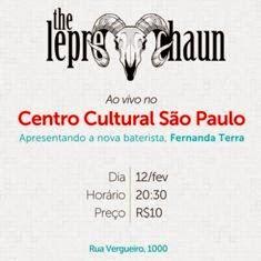 Dia 12/02 em São Paulo