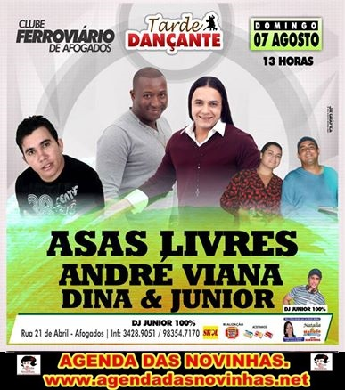 CLUBE FERROVIÁRIO DE AFOGADOS - ASAS LIVRES.