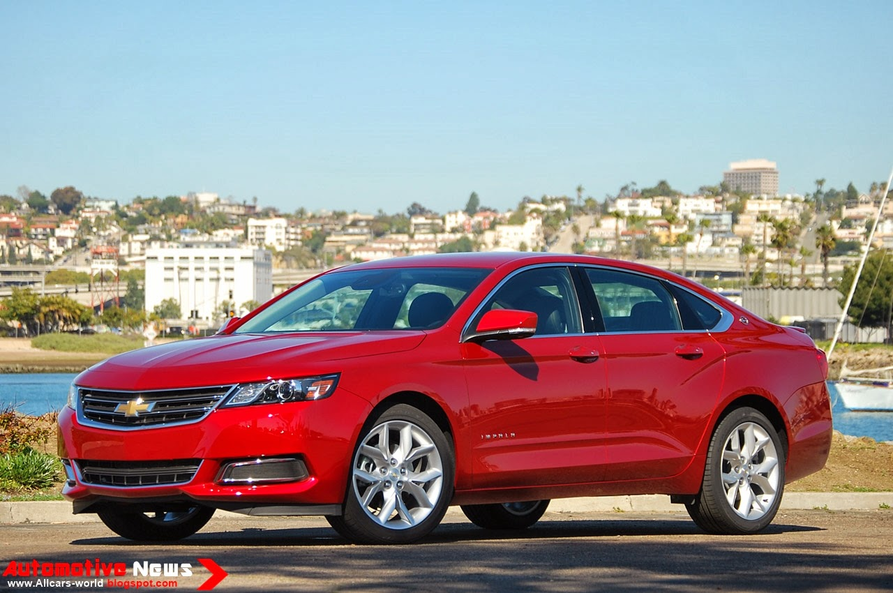 automotive news 2014 chevrolet impala. Black Bedroom Furniture Sets. Home Design Ideas