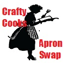Silhouette image of cook wearing an apron and reading a cookery book