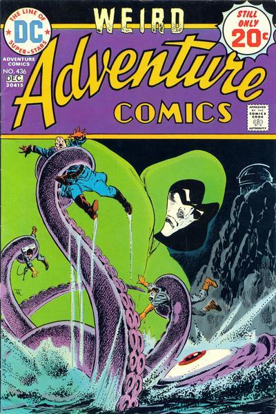 Adventure Comics #436, Jim Aparo, the Spectre