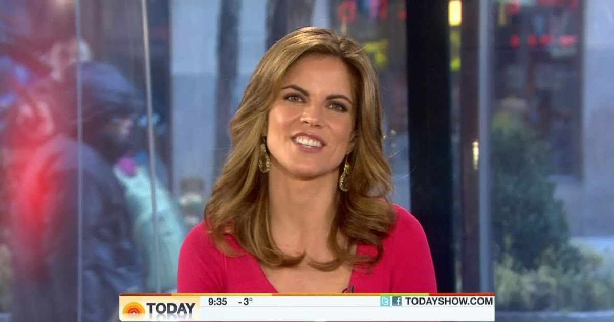 A Hot Natalie Morales On Today Sexy Leg Cross
