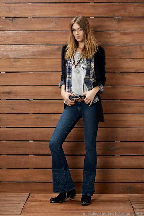 Kevingston Mujer pantalones oxford tendencia otoño invierno 2015. Moda ropa otoño invierno 2015.