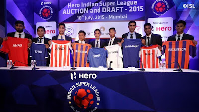 ISL 2017 All Teams Squad, Players List, Marquee Players