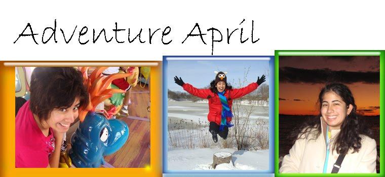 Adventure April