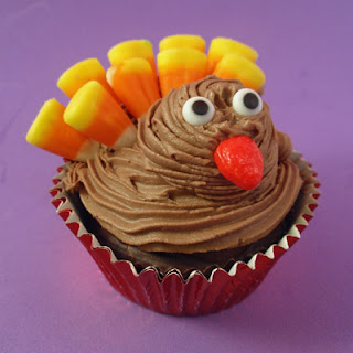 Turkey Cupcake Ideas