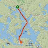Lake Rosseau Tracker